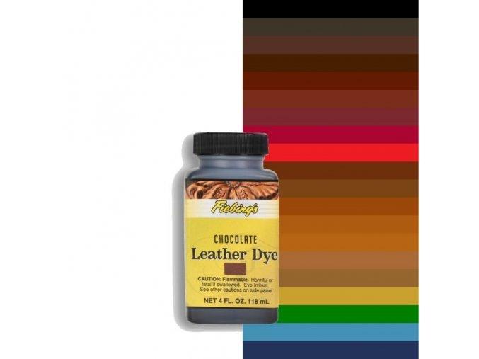 Barva na kůži Fiebing's Leather Dye 4 fl. oz. (118ml)