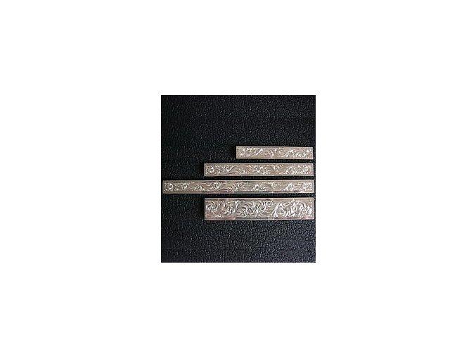 Zdobení na lícnice Montana SilverSmiths 1,3 cm x 9 cm