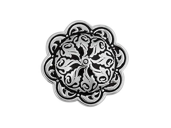 Končo HorseShoe Floral - černý vzor