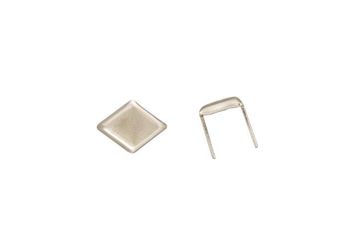 Zdobení diamant Nikl - 25ks nebo 30ks