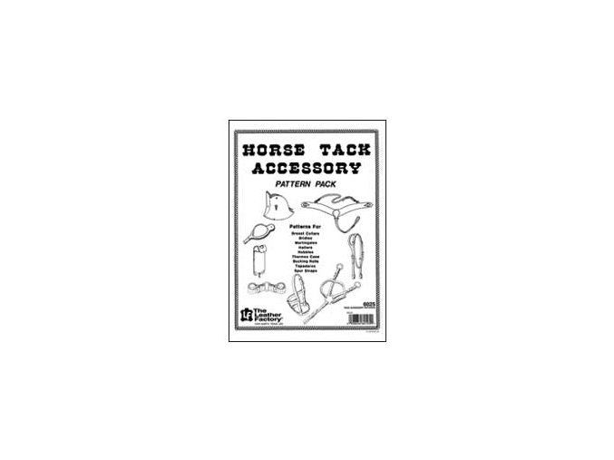 Horse Tack Accessory Pattern Pack