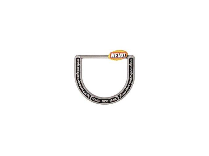 Sedlové déčko HorseShoe Barbed wire - černý vzor