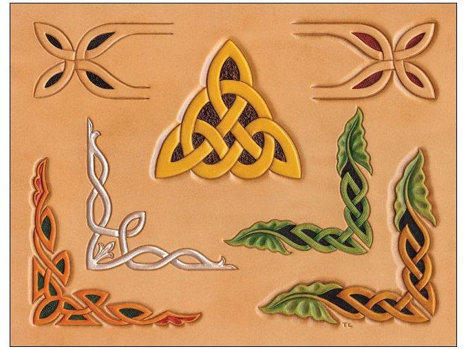 Šablona Keltské Rohy