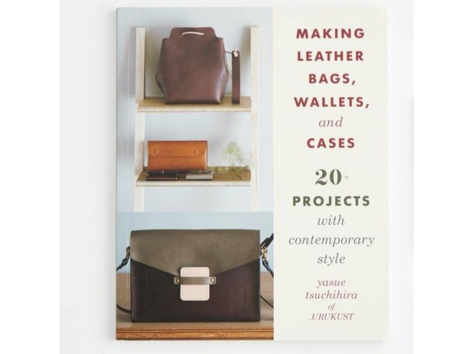 Making leather bags, wallets and cases