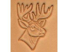 3D raznice Hlava jelena