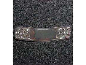 Stříbrné zdobení Montana SilverSmiths na zadní rozcochu sedla