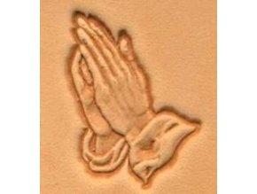 3D raznice Modlící ruce