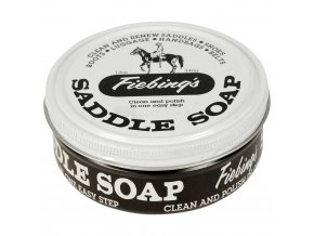 Sedlové mýdlo Fiebing's bílé
