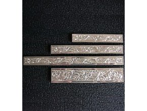 Zdobení na lícnice Montana SilverSmiths 1,3 cm x 12,5 cm