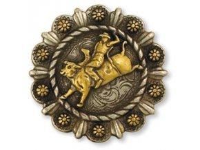 Končo Western Roped berry - Jezdec na býku