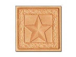 3D raznice Čtvercová hvězda