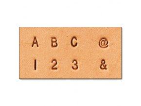 Raznice sada Písmen a Číslic 0,3 cm