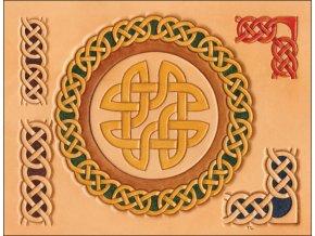 Šablona Keltské Kruhy a Rohy
