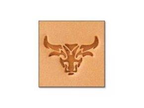 3D Mini raznice Hlava býka