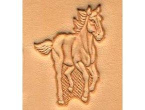 3D raznice Běžící kůň